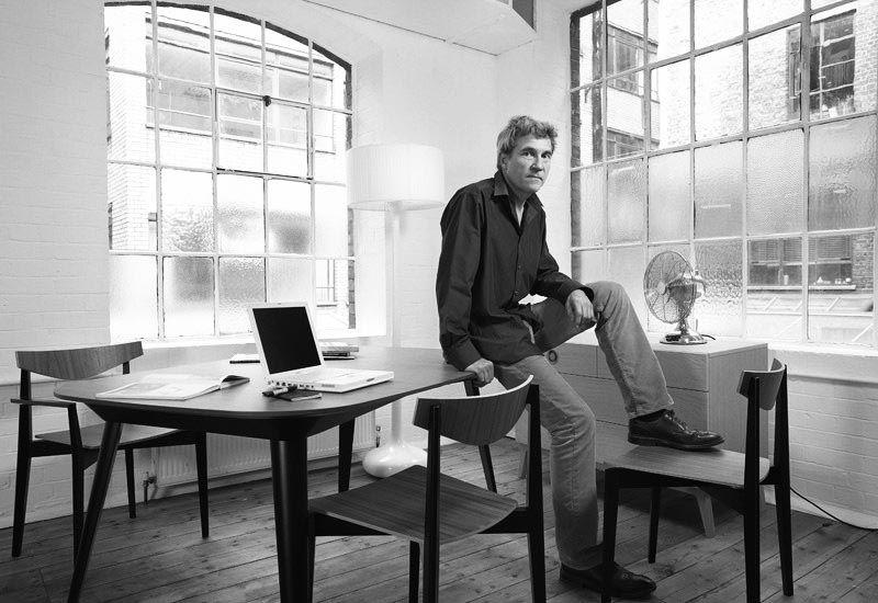 Designer Matthew Hilton office portrait