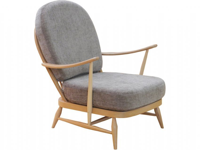 Ercol's Windsor easy chair was designed in the 1950s and is today a modern classic, perfect for a baby's room