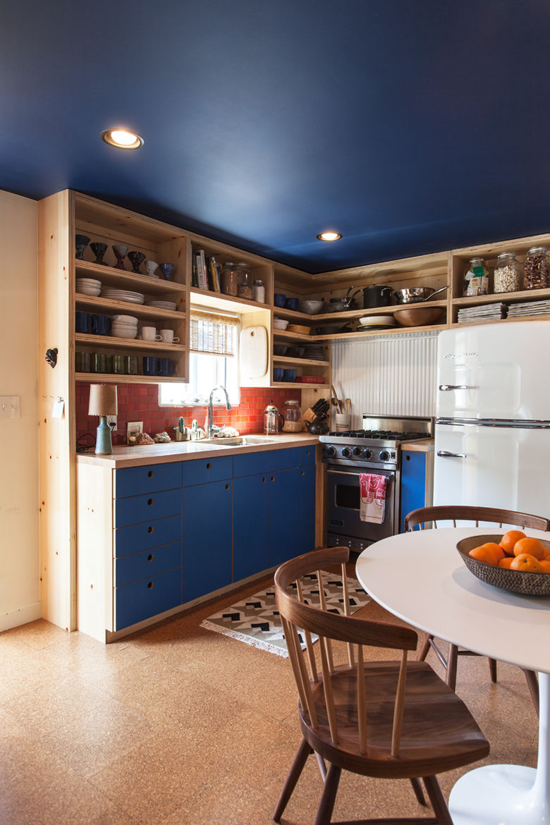 small space trailer malibu kitchen
