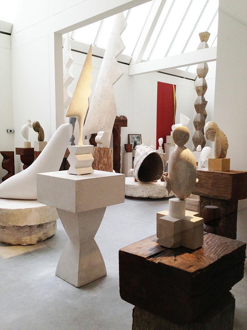 Atelier Brancusi at Centre Georges Pompidou