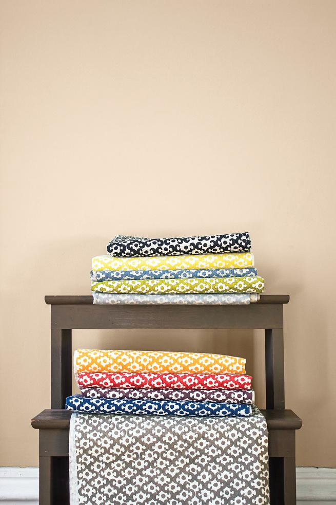 Lattice textiles.