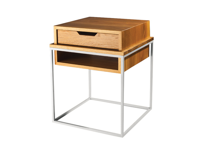 Plastolux Cube Side Table by Eastvold Furniture