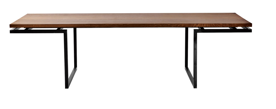 Miles dining table by Miles & May Furniture Works
