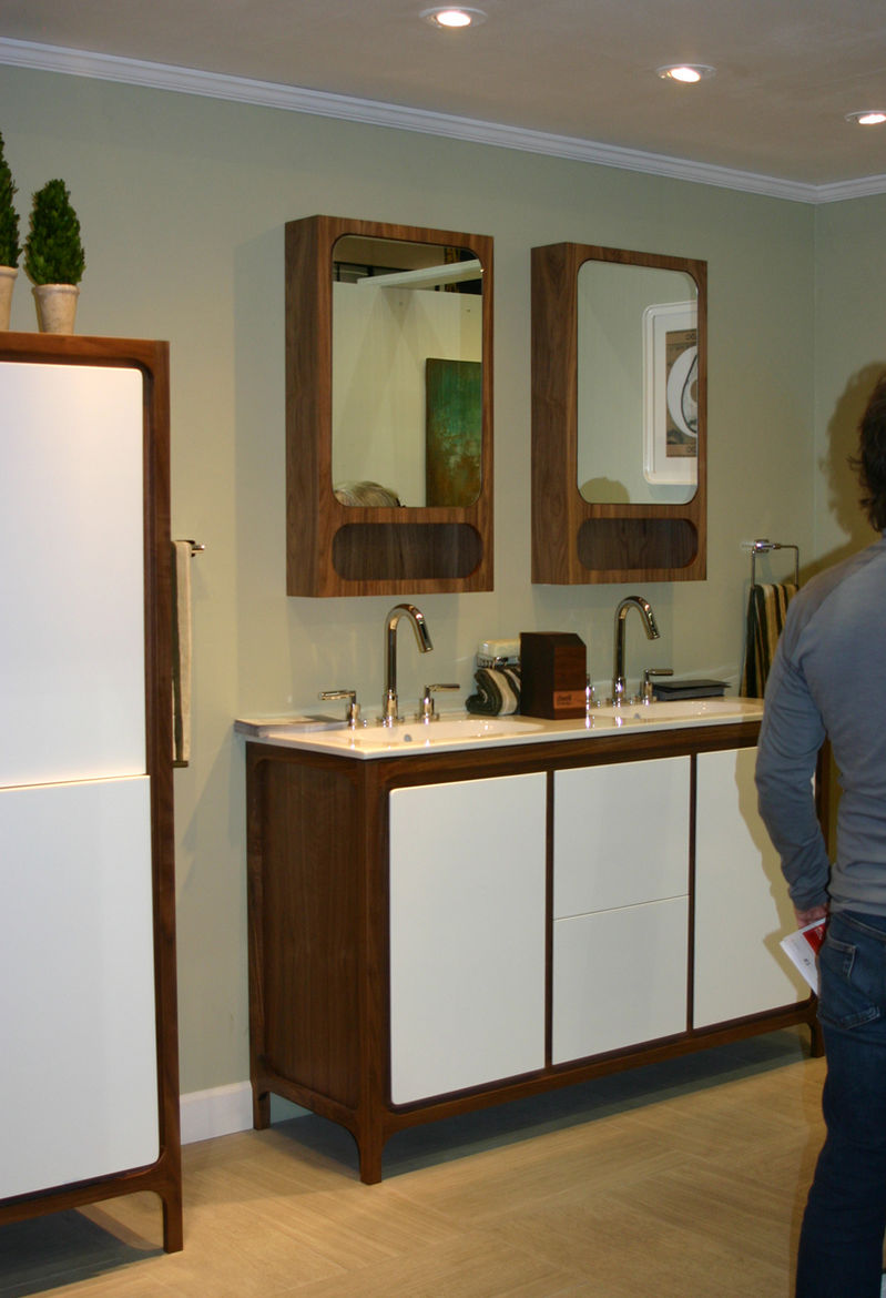 Lacava bathroom furniture and fixtures from Chicago, at Dwell on Design