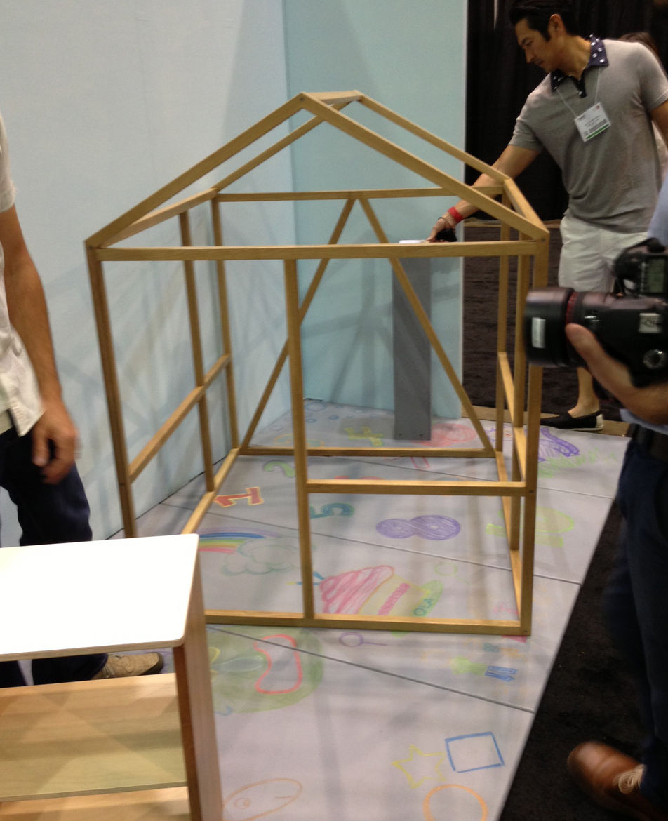 Playforms Framehouse by North Forty Design is good for kids, at Dwell on Design