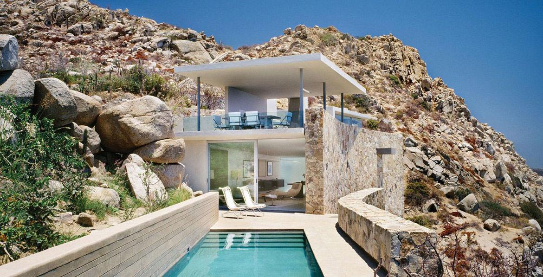 Modern house in Cabo San Lucas Mexico
