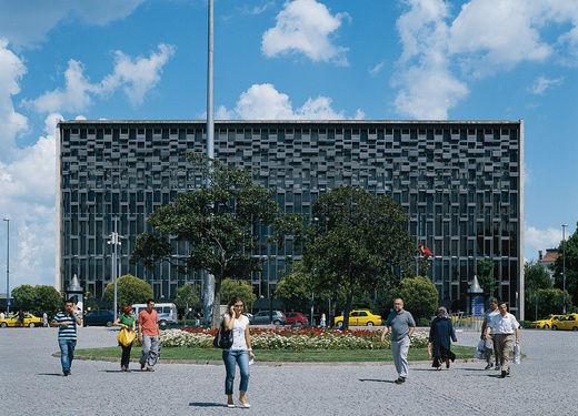 Ataturk Center modern Istanbul