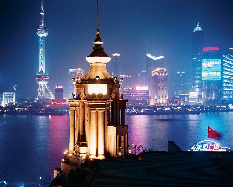 Huangpu River Shanghai China