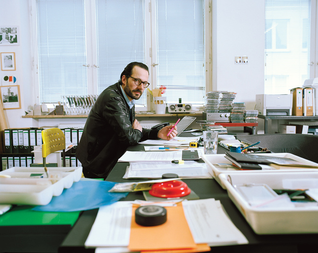industrial designer Konstantin Grcic