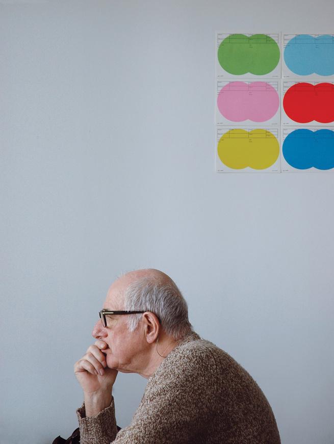 graphic designer Karel Martens portrait