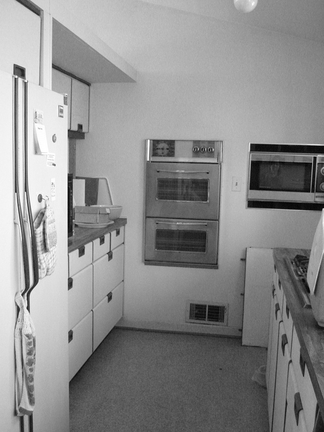 Before kitchen 1950 home