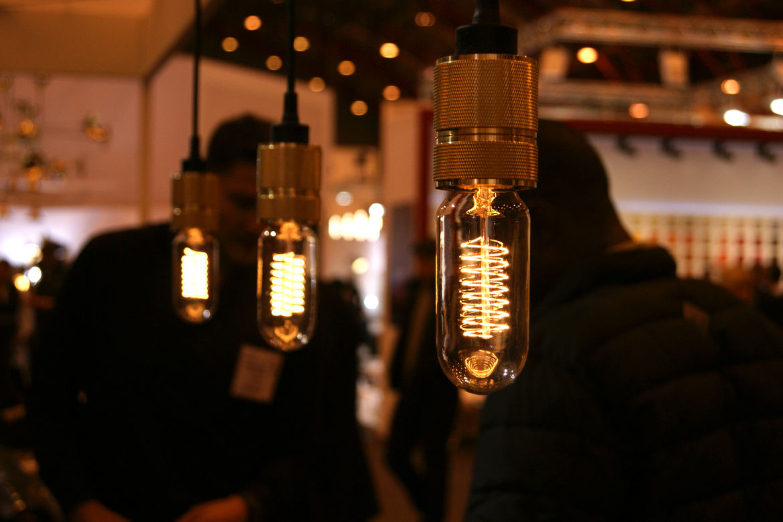 Buster + Punch filament Edison bulb pendant lamp London Design Festival 2013 trends
