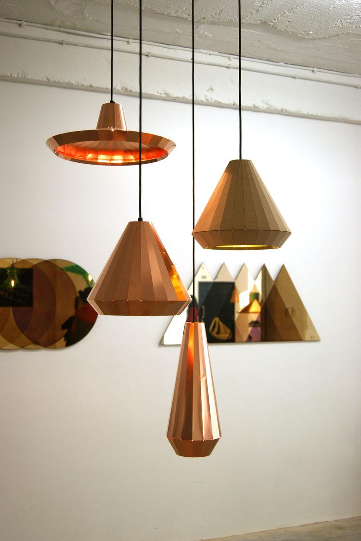 David Derksen TENT London Design Festival copper pendant lighting trends 2013