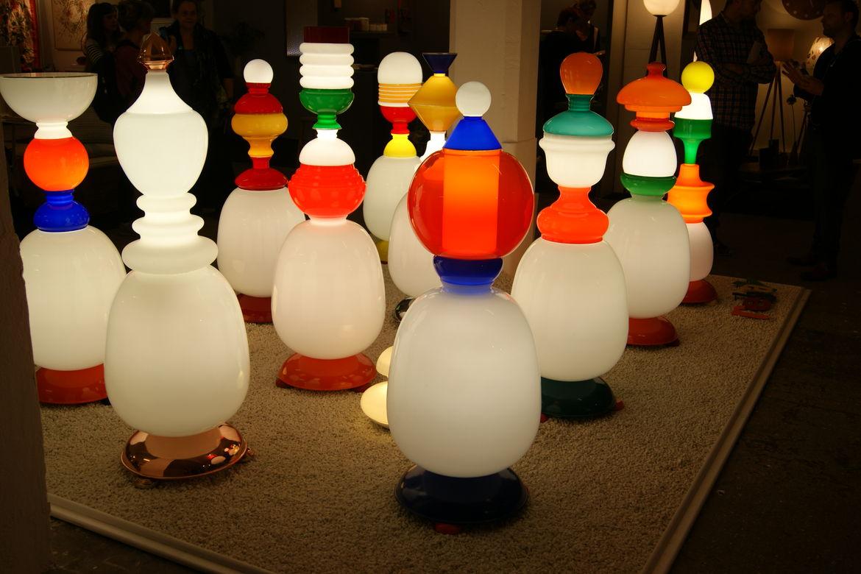Studio Jon Male upcycling Rebay floor lamps London Design Festival 2013 trends