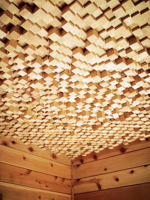 hollywood cabin loft ceiling