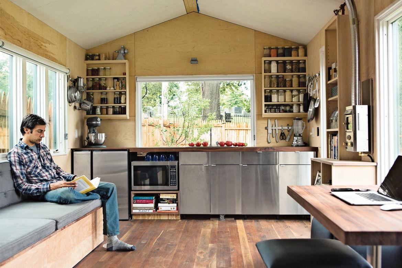 big ideas micro dwellings interior sonoma county