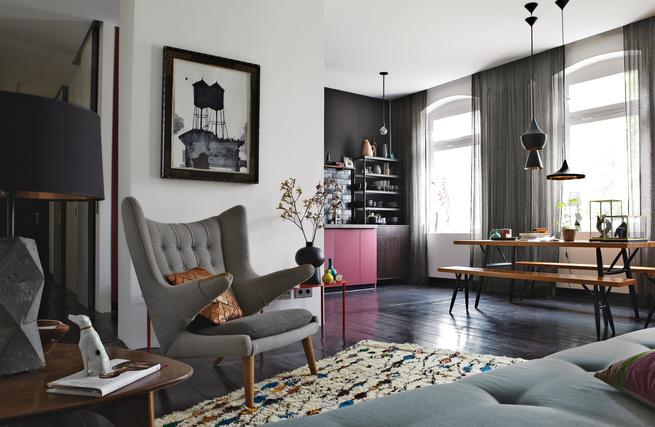 berlin apartment interior