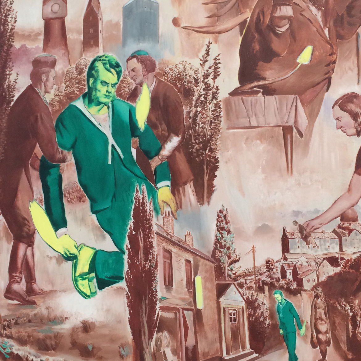 painting by neo rauch germany