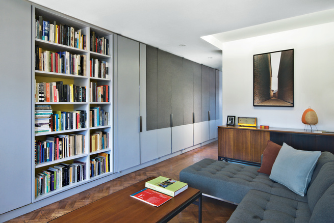 brooklyn renovation living room