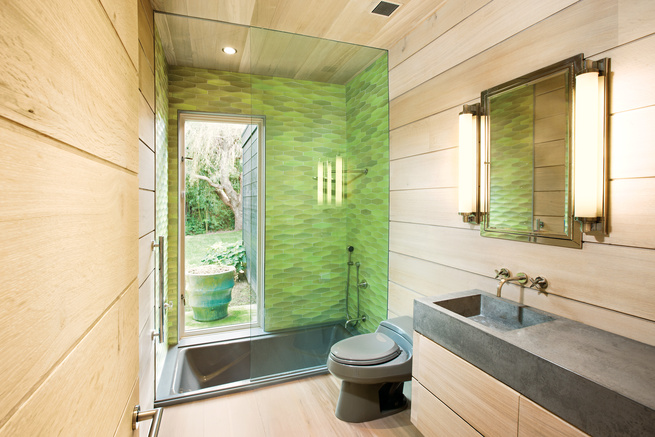 sustainable mid-century beach house in the hamptons
