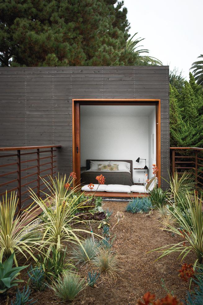 venice home indoor outdoor bedroom