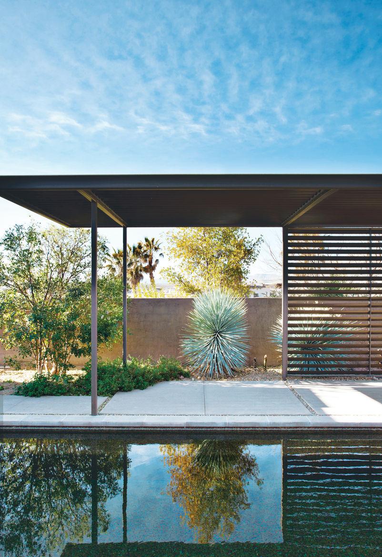 murren prefab residence indoor outdoor patio
