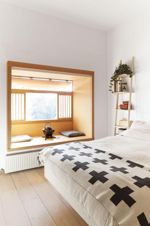 mjolk boutique owners renovate their Toronto dwelling interior bedroom