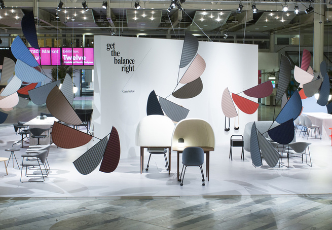 GamFratesi Stockholm Furniture Fair textiles