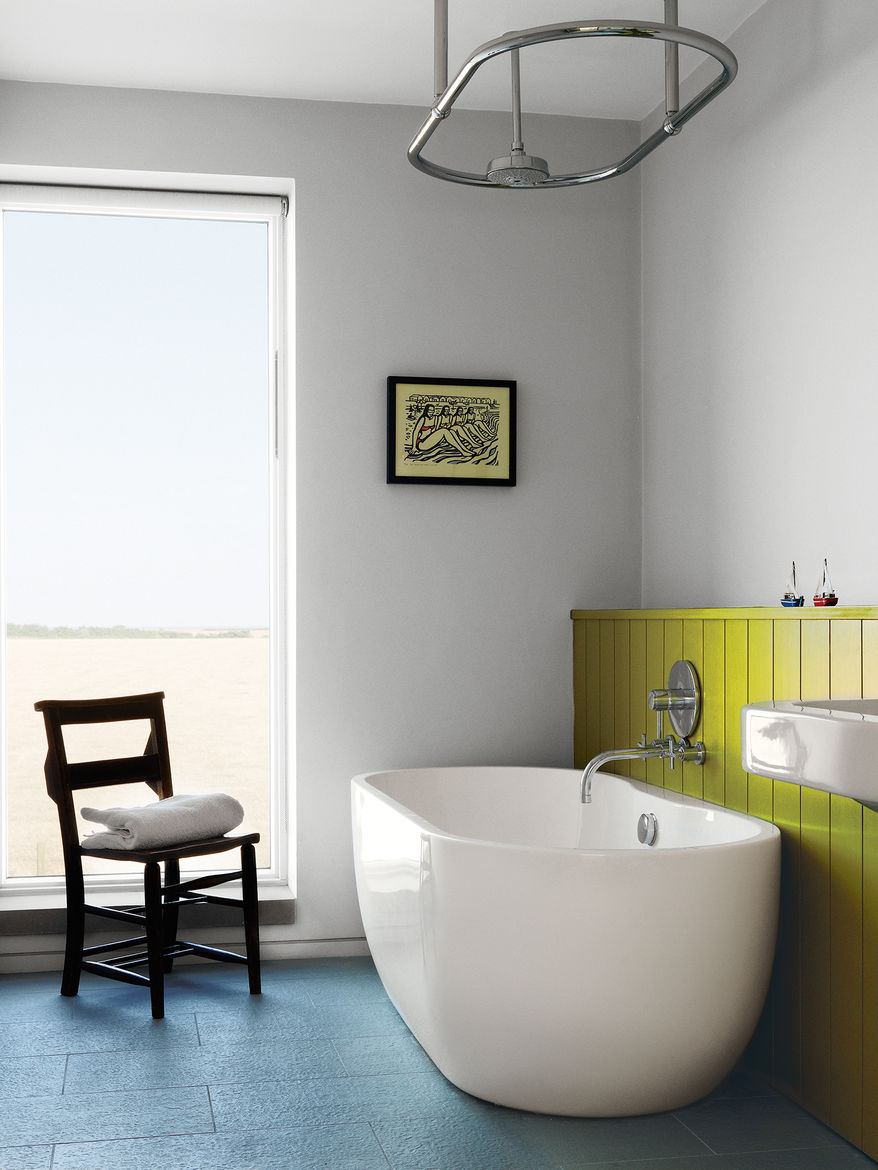 Lucy Marston home interior bathroom