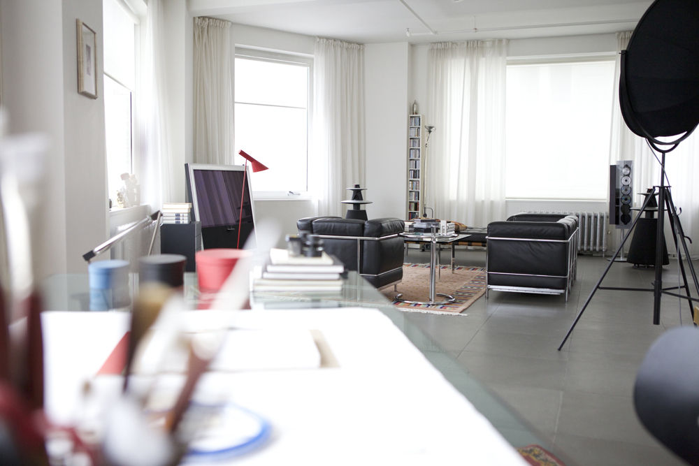 Daniel Libeskind apartment New York Tribeca designers at home