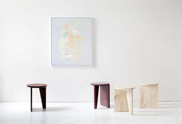 ICFF 2014 Javits Egg Collective trip designers Brooklyn Wu side table