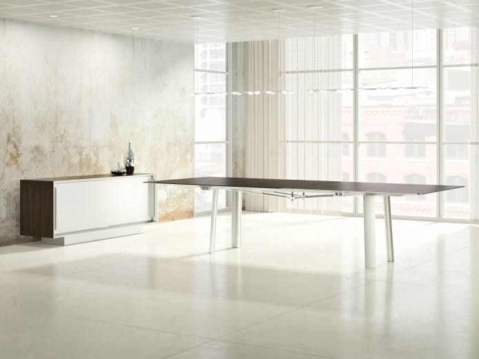 Kai Table by Joey Ruiter for NuCraft at NeoCon 2014