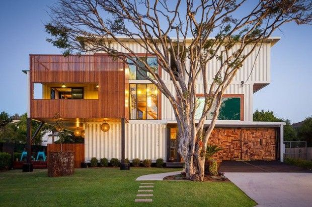 Shipping Container Home in Brisbane, Australia