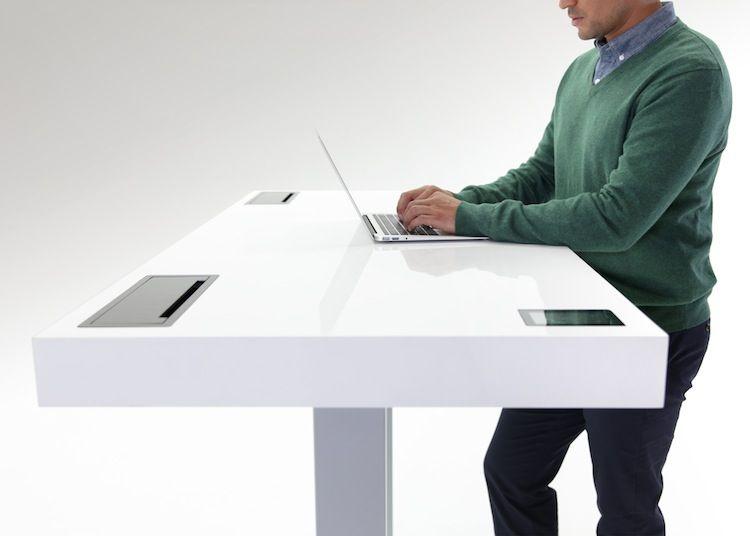 Kinetic Desk by Stir at NeoCon 2014