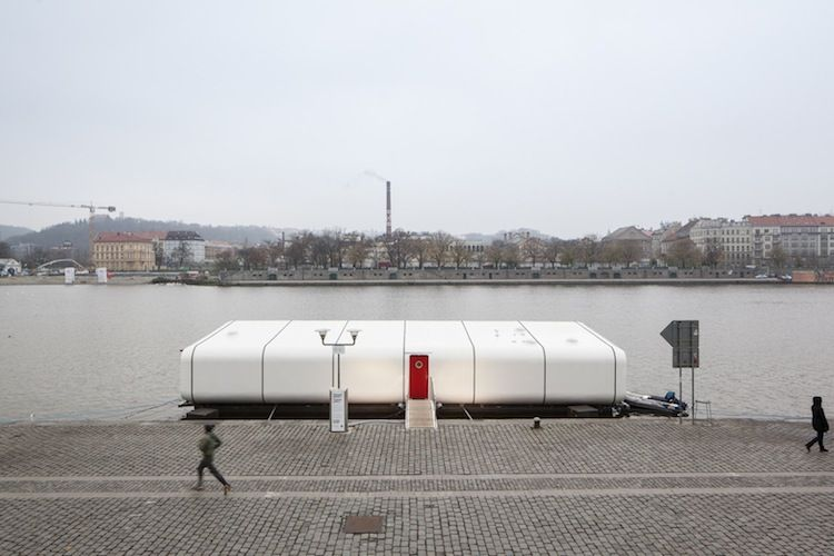 A Dockside View of the Port X Module