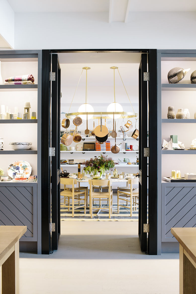 Dining furniture and kitchenware at Boerum House and Home