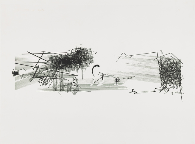 Daniel Libeskind architectural sketch