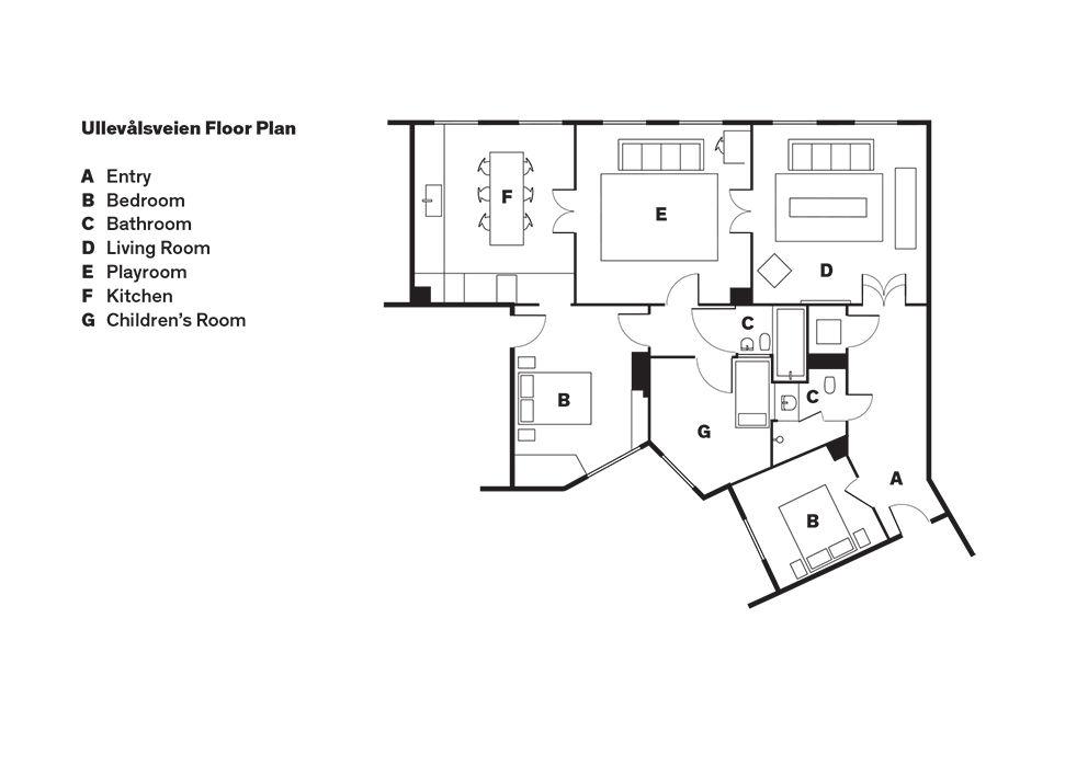 Oslo house floor plan