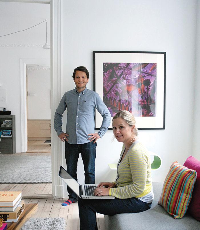 Oslo family home renovation portrait