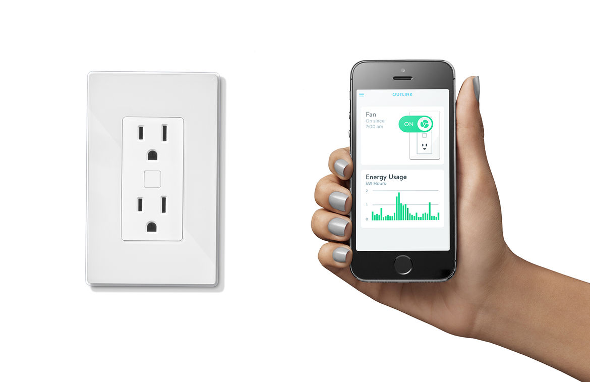 quirky and GE smart home connected technology outlink outlet