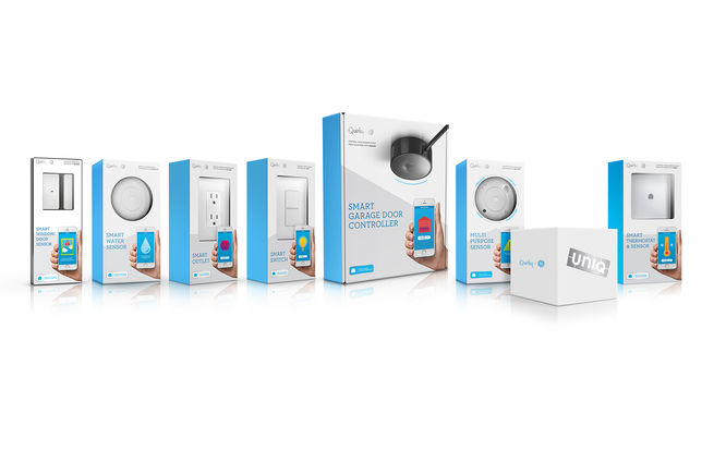 quirky and GE smart home connected technology product range
