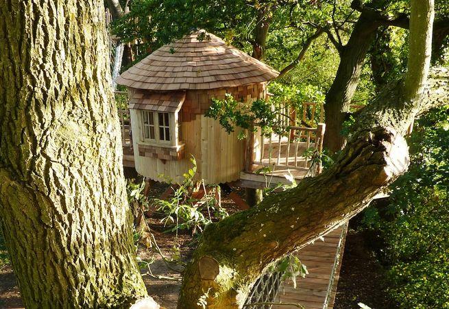 A Bower House Construction Custom Treehouse