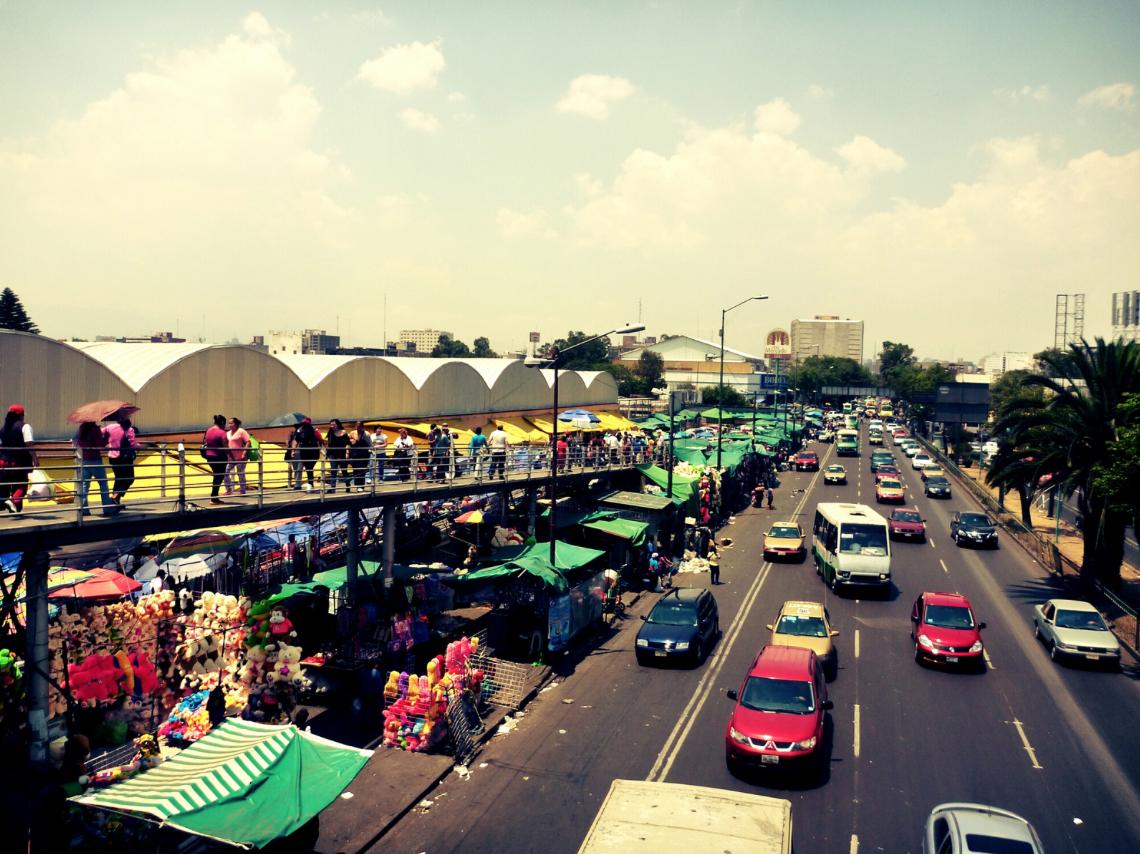 Mercado de Sonora in Mexico City