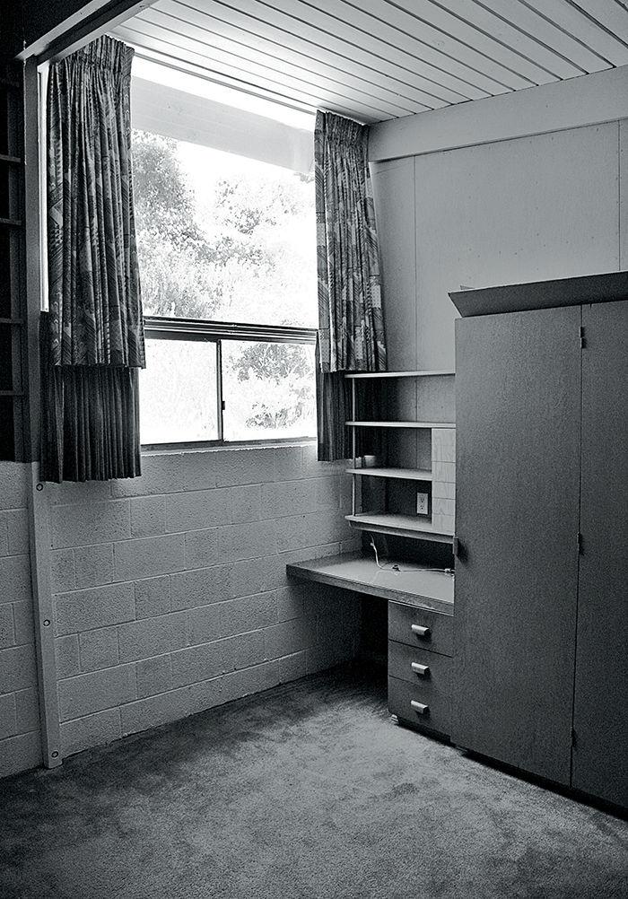 Crestwood Renovation bedroom built-ins before.