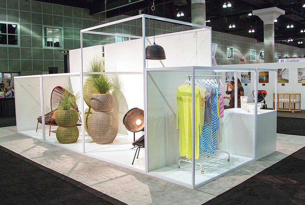 Display by Industrial Designer Stephen Burks at Dwell on Design LA
