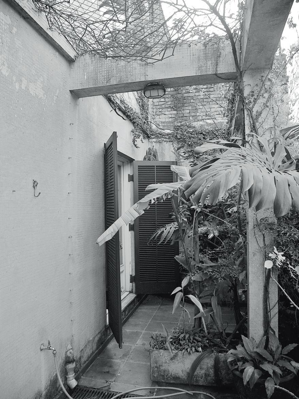 São Paulo apartment outdoor terrace before renovation
