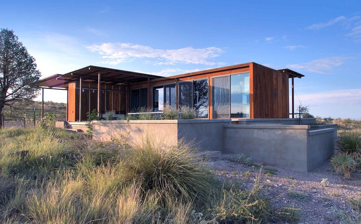 Marfa weeHouse Exterior View