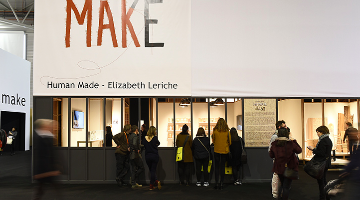 Elizabeth Leriche Human Made exhibition at Maison Objet 2015