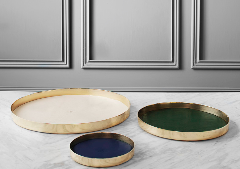 Komm trays by Michael Verheyden for Maison Objet