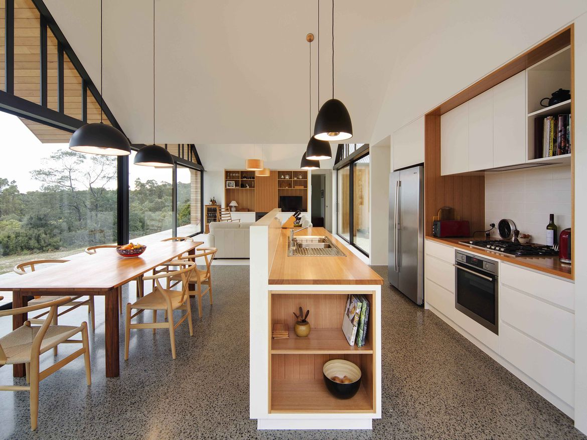 The Lookout House Kitchen in Tasmania